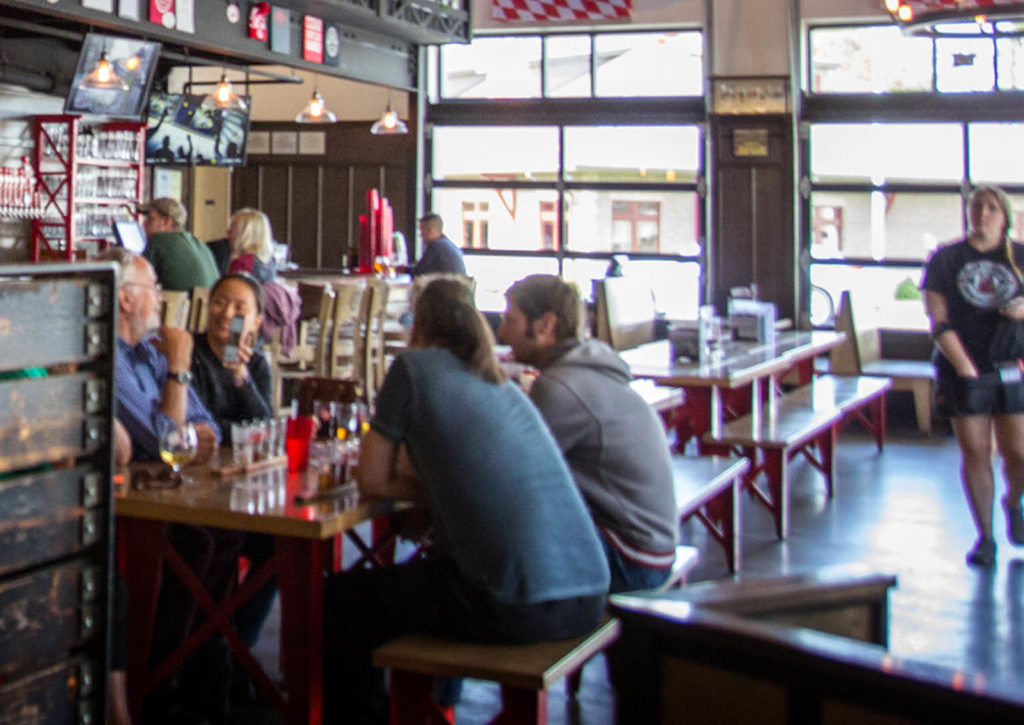 You ll find hearty German fare and Bavarian-style ales at Cedar Springs Brewing Company