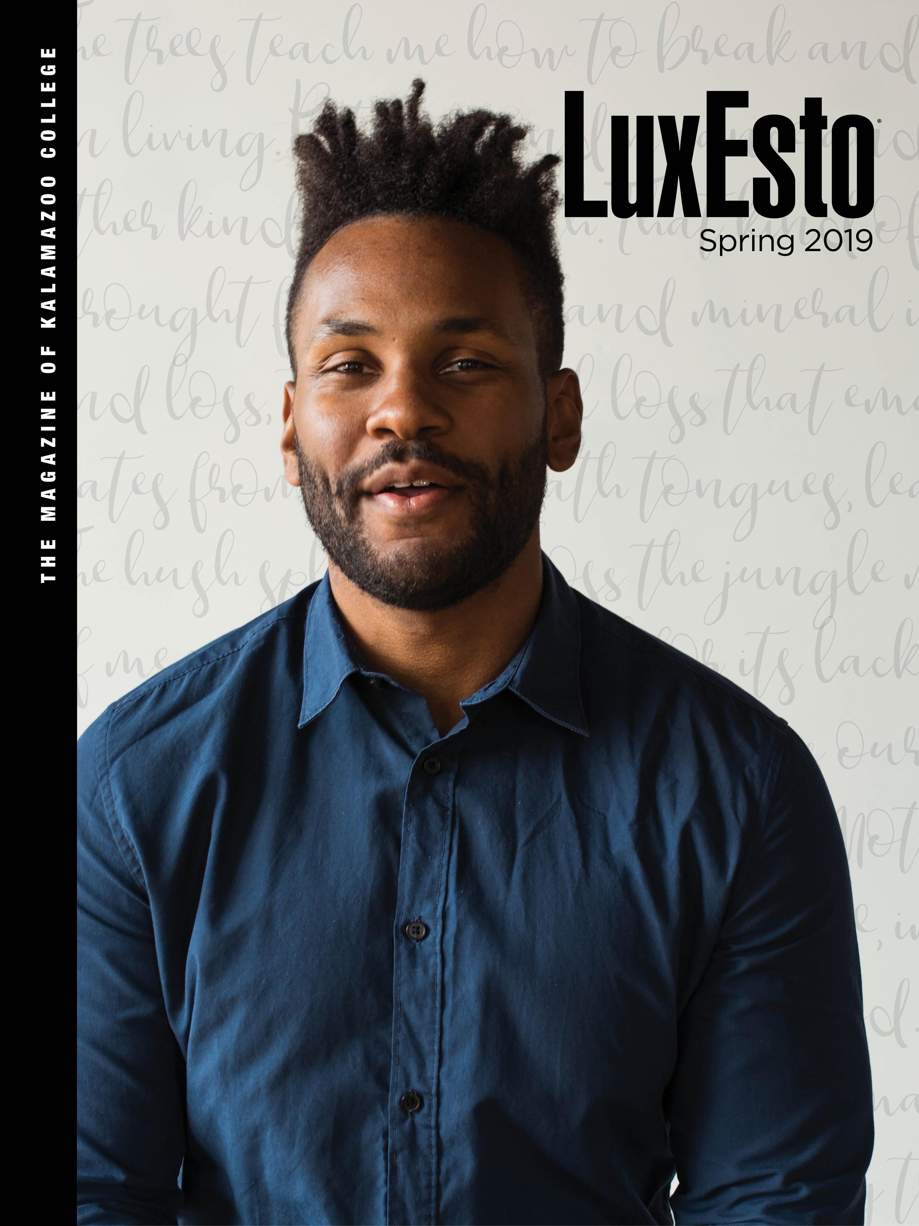 Spring 2019 LuxEsto Cover