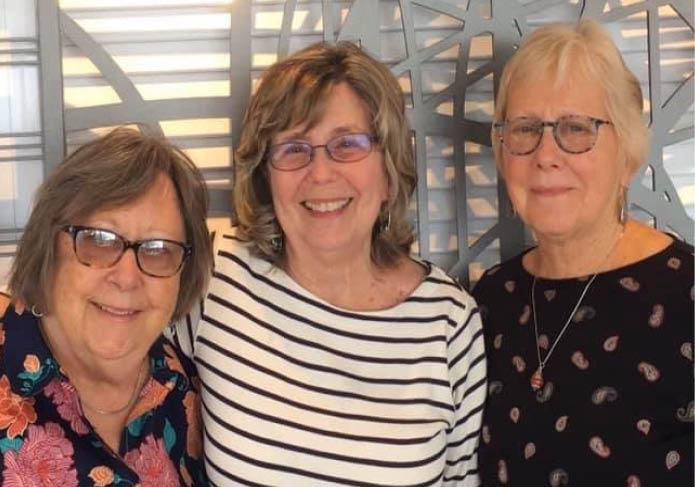 Nancy, Betsy and Diane standing