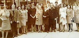 Vichy Group in front of BusMertaugh